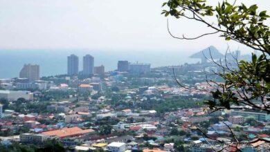 Фото Обзорная площадка в парке на горе Khao Hin Lek Fai Hill в Хуа Хине