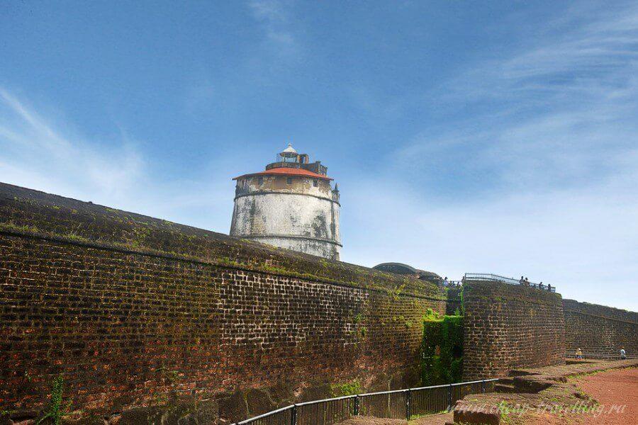 Агуада маяк со стеной