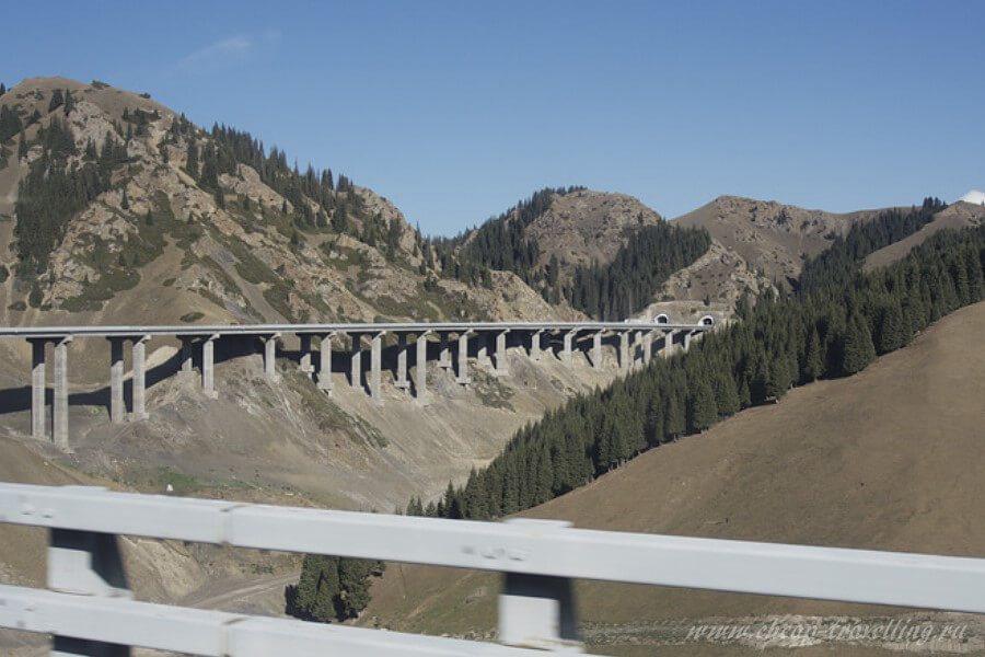 Дороги в горах современные