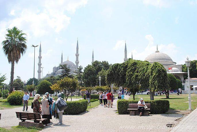 Голубая мечеть и Суланахмет