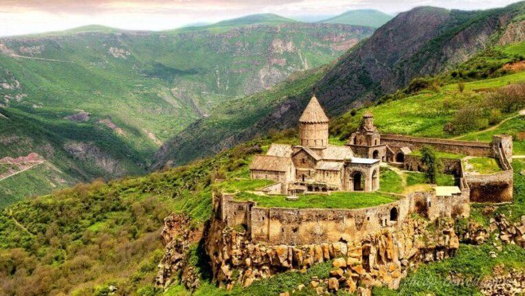 Монастырь в Грузии