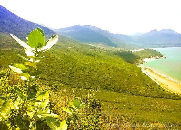 пейзажи полуострова Нинь Ван