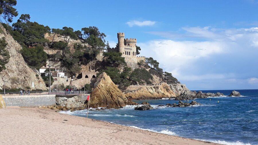 Замок у моря Достопримечательности Лорет-Де Мар