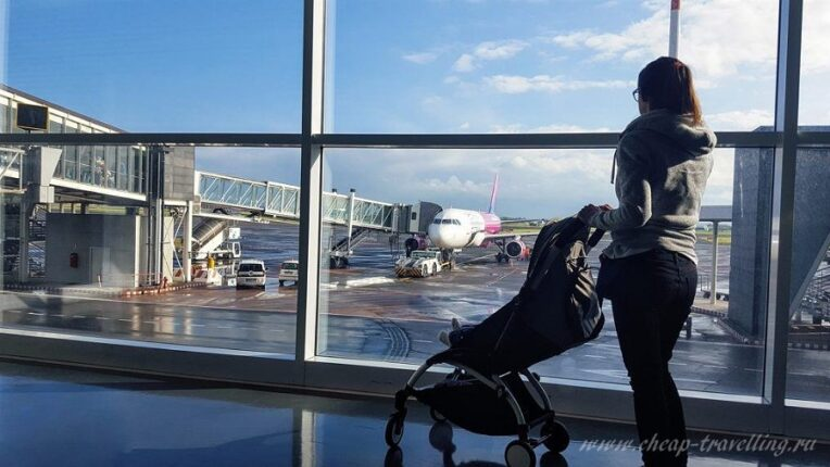 В аэропорту с ребёнком