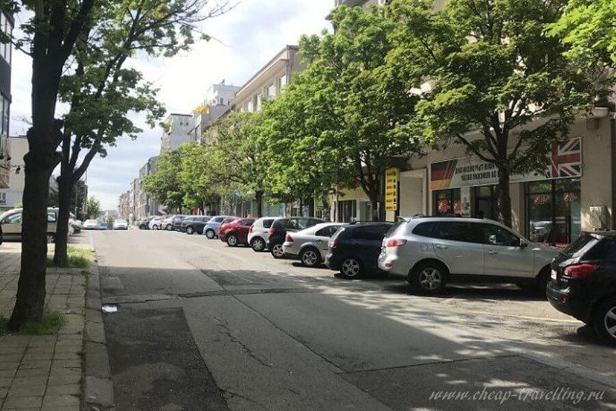 дорога на улице Варны фото
