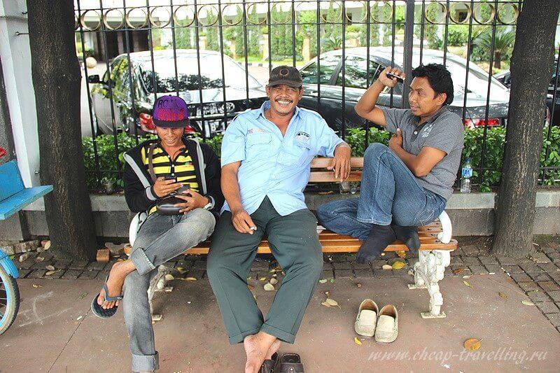 Жители Джакарты