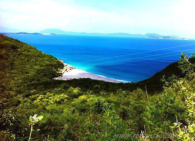 дикие пляжи нячанг