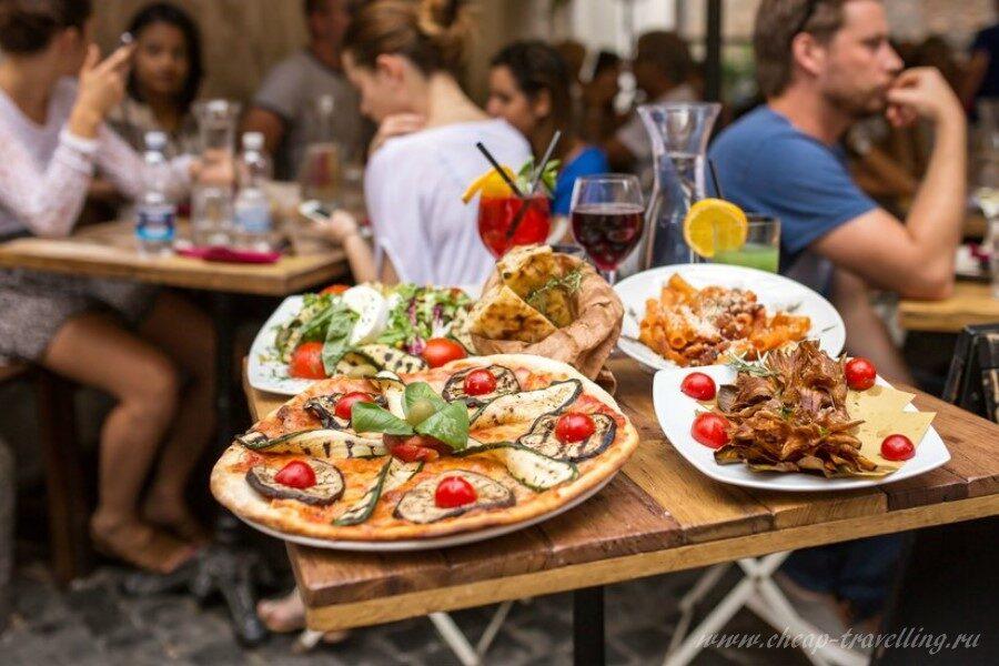 Традиционная пицца в Италии