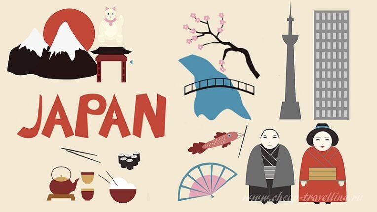 Япония коллаж