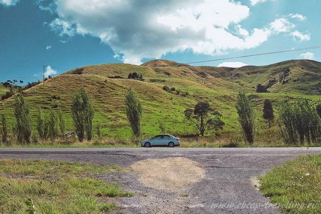 Ландшафт Новая Зеландия