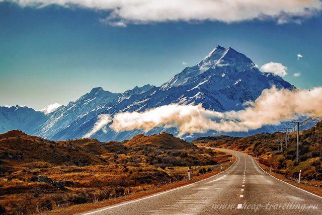 Горы Новая Зеландия