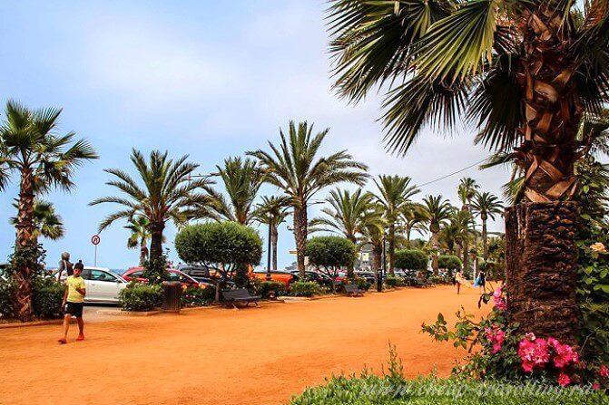 Побережье в Испании