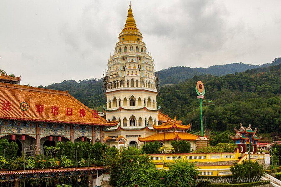 Пагода Храмовый комплекс Kek Lok Si
