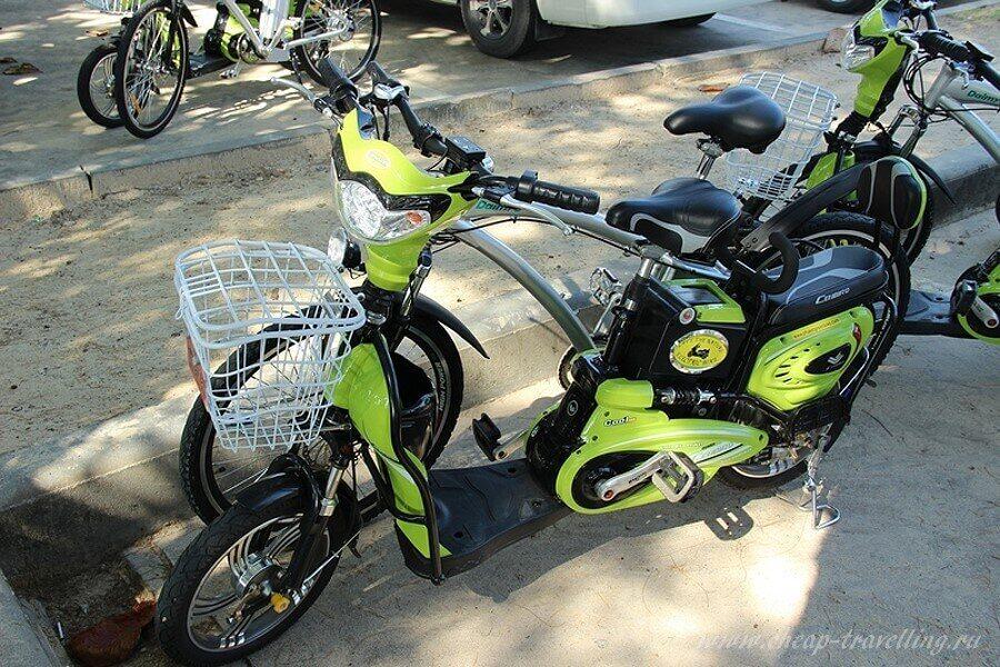 Велосипед - мопед