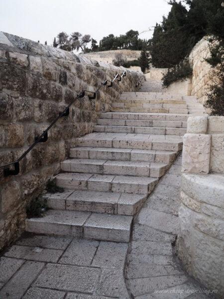 Лестница на Масличную гору