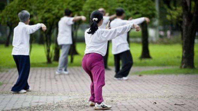 Спорт для всех в Китае
