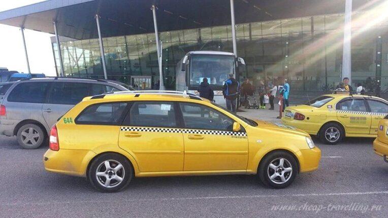 Такси в аэропорту Варны