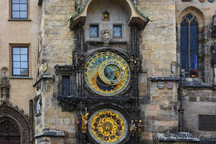 Знаменитые часы Чехии